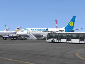 The flights of air Kazakhstan