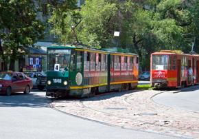 Public transport in Kazakhstan - tram