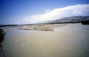 Naryn river, Kyrgyzstan