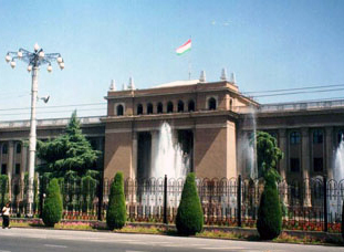 Goverment building in Dushanbe