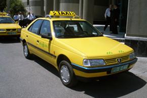 Taxi in Turkmenistan