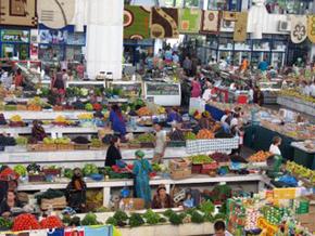 At turkmen bazaar