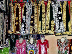 Types of National dress at Bazaar