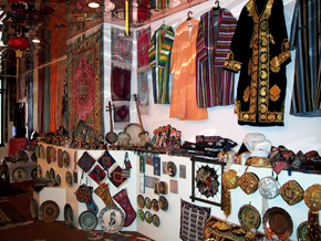 Types of national dress and souvenirs