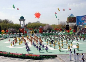 The celebration of  Navruz National holiday of Uzbekistan