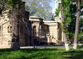 Castle of the great prince(knyaz) Nikolay Romanov in summer