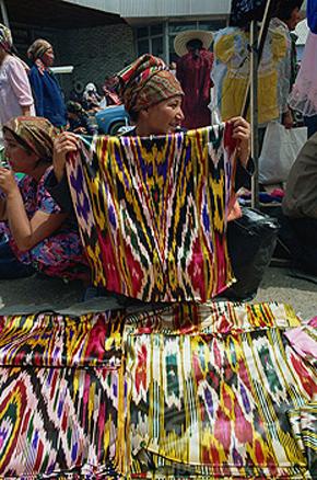 Bazaar in Osh
