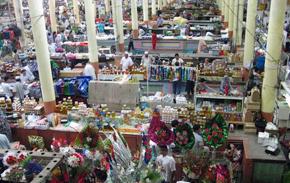 Khojand Panchshanbe bazaar