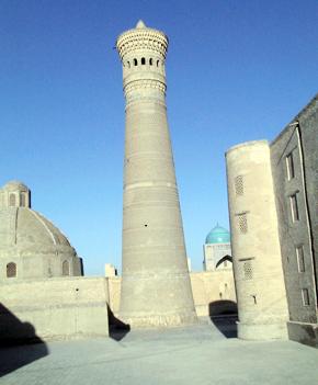 Minaret Kalon in Bukhara