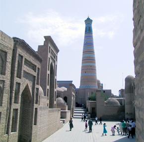 Khiva-Islam Khodja Minaret