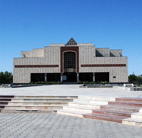 The Nukus art museum named after Igor Savitsky